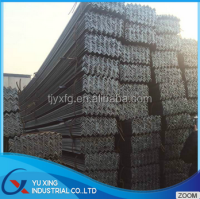 Black angle steel production