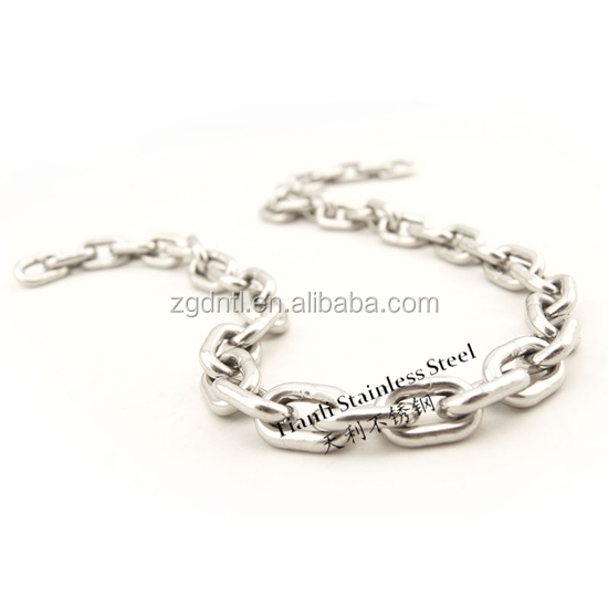 Good corrosion resistance and popular type stainless steel long link chain 304 316