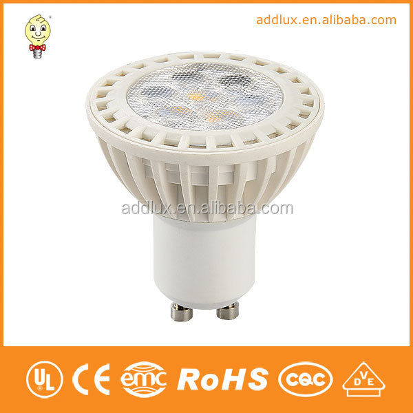 Daylight CE UL GS Dimming 220V 7W 6W 4W SMD GU10 Energy Saving Led Spot Light
