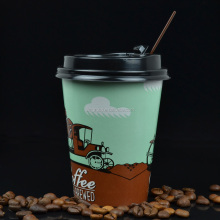 China wholesale price OEM logo printed disposable soda drink paper cup