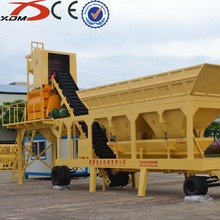 mini mobile concrete batching plant layout price ISO9001 CE YHZS35