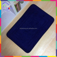 Navy blue quality hot sale water absorbing area rug