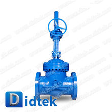 Didtek Alloy Steel Bolt Bonnet By-pass Gate Valve with Gear Operated