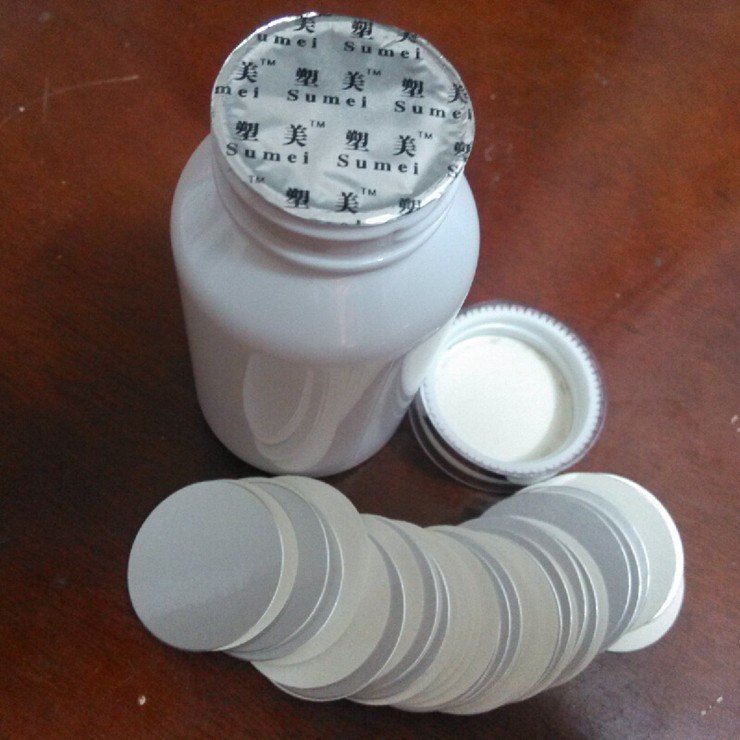Aluminum Foil Sealing Machine for Plastic Bottle Caps, Cans, Glass Containers Etc