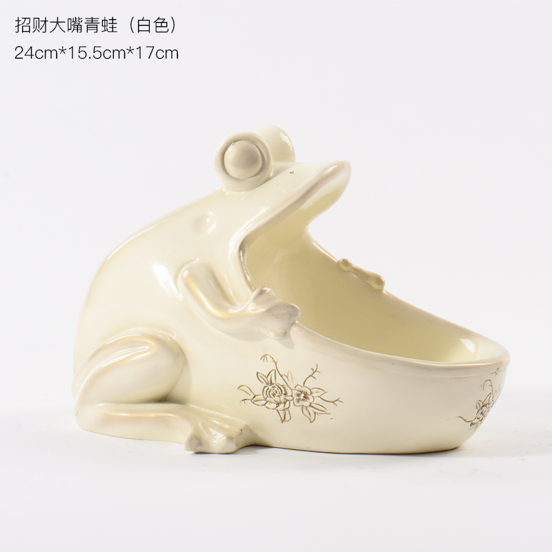 Home Decorative Resin FrogFigurine