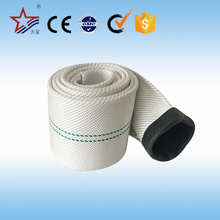 High Quality Canvas Fire Hose Pvc Ribbed Flexible Fire Fighting Hose