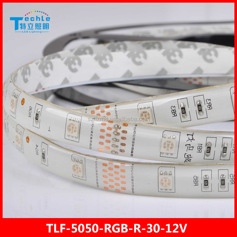 Cuttable led strip light 5050 RGB Horse Race 30 led/m 12V running pattern light