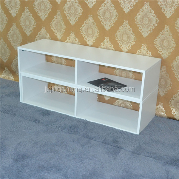 Recycle classic white wood tv unit italian furniture