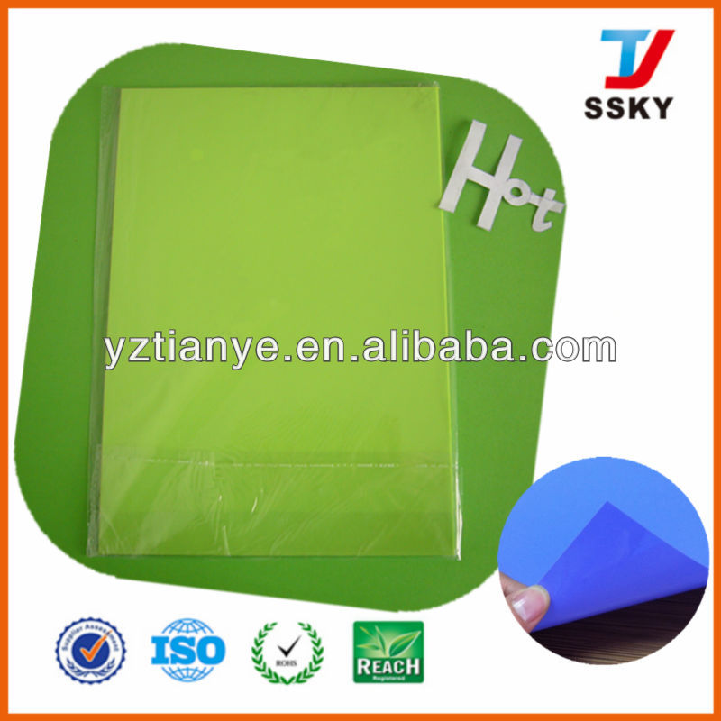 Transparent A4 plastic PVC binding cover
