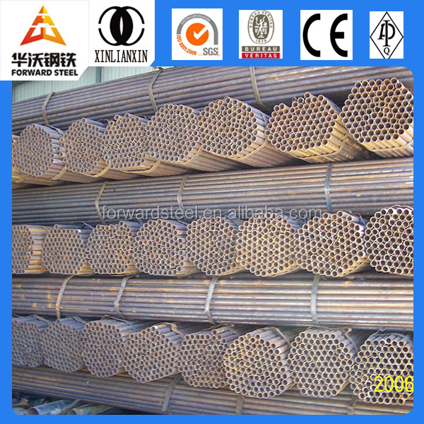 ERW circular tubular steel pipes building material ERW round 20 inch carbon steel pipe