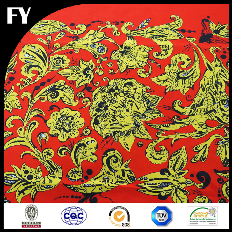 Factory direct 2016 popular custom digital poly bingo print fabric