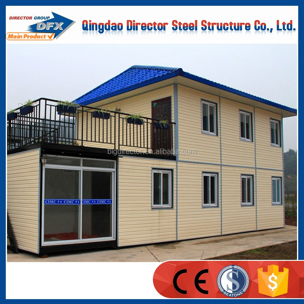 Prefab two storey factory office building