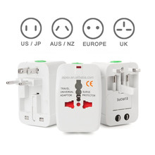 Hot sell plug univeral travel usb adapter / world travel adaptor, multipurpose plug, travel adapter with usb