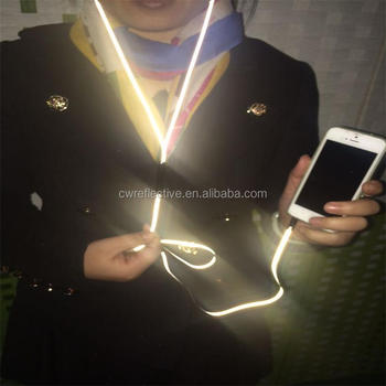 high quality environmental double side reflective glowing headphones