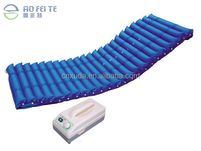 Aofeite Medical Healthcare Blue Strip-Type Air Inflatable Hospital Mattress