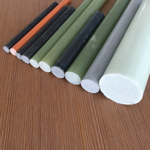solid for insulator flexible polymer fiberglass rod