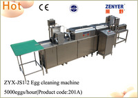 Zenyer machinery factory price egg washer / egg drying for sale