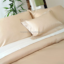 Wholesale 200TC 100% Organic bamboo bed sheets set