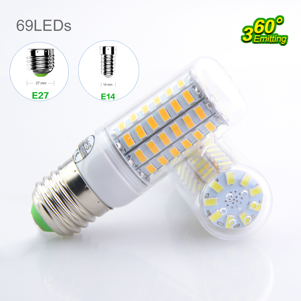 Free sample , Constant current with IC 4U Shape e27 SMD2835 LED Corn Light
