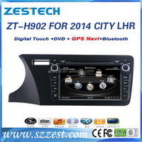 9 inch car dvd player for honda city 2014 dvd player with Left hand drive