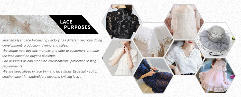 Poly Cheap Lace Fabric Design For Garment