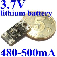 3.7v lithium ion battery charger circuit pcb board module super mini size 4.5-6V 5V To 3.7V buck converter
