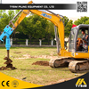 borehole auger drill, KA3500, construction equipment portable piling rig, civil construction machine