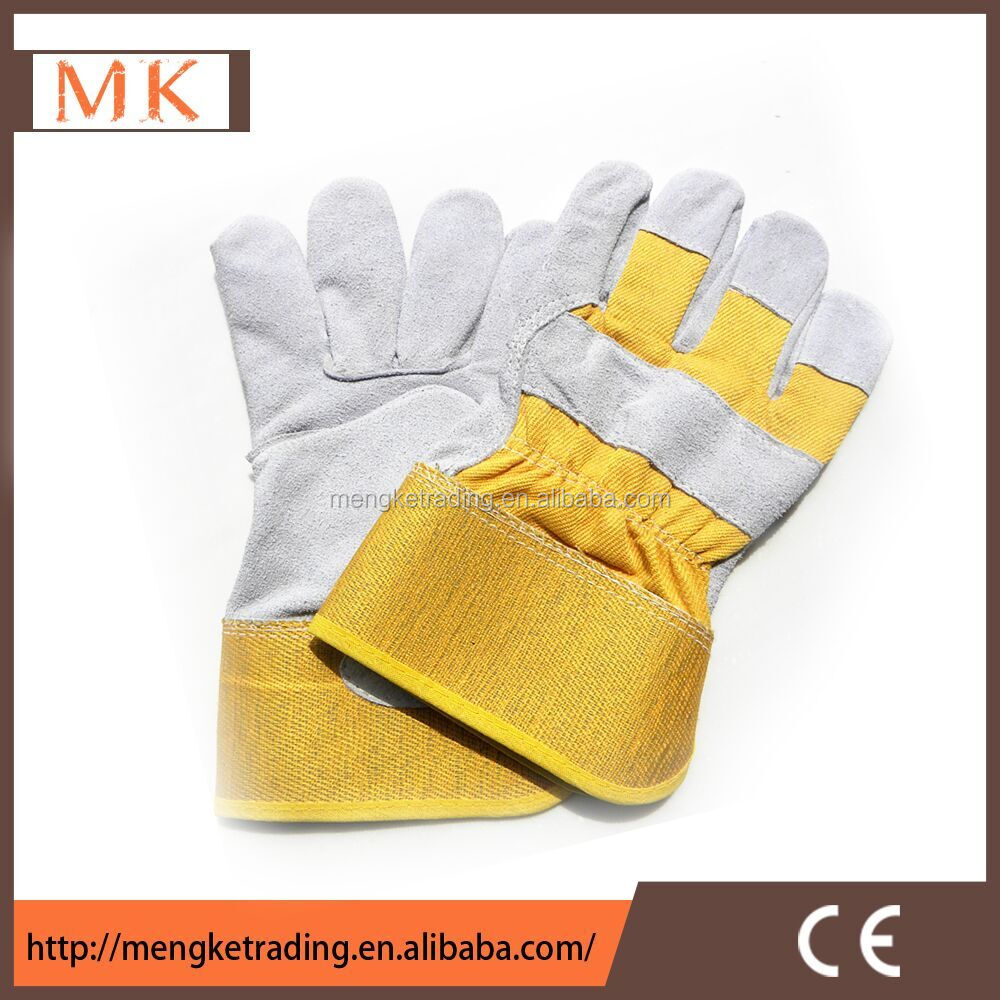 Ladies leather gloves yellow - Beautiful Ladies Goatsuede Half Finger Rabbit Fur Leather Gloves With Fashion And Classic Beautiful Ladies Goatsuede Half Finger Rabbit Fur Leather