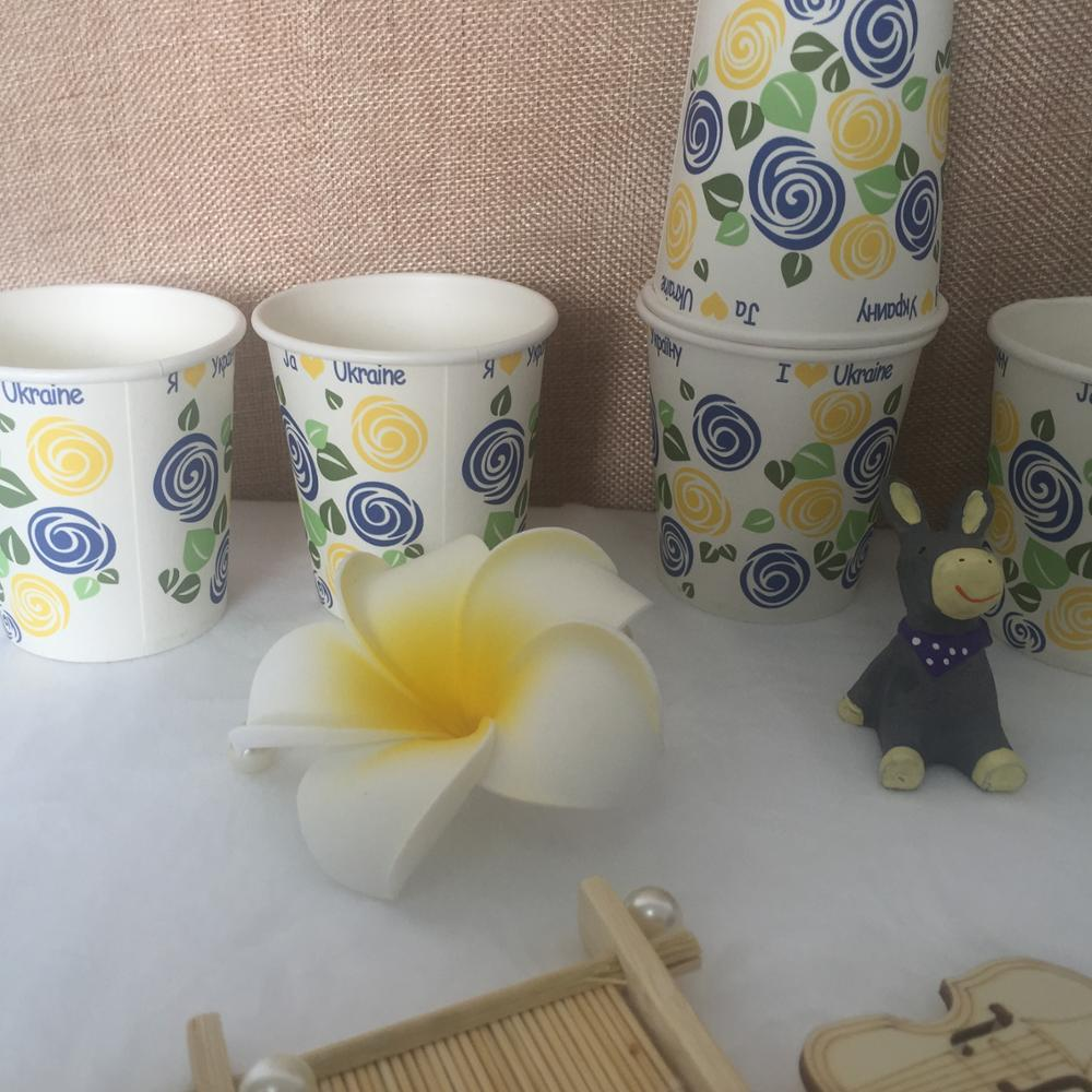 6OZ paper cup /6OZ Disposable paper cups/165ml paper cup