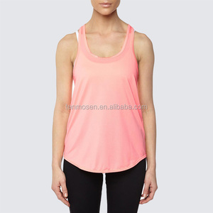Womens Training Athletic Vest Fitness Yoga Wear Colorful Tank Crop Top