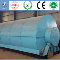 Higher Oil Yield usage recycle energy production line, industry of the waste rubber tires pyrolysis fuel oil