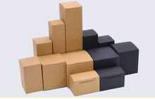 White/black/kraft cardboard paper boxes for packaging