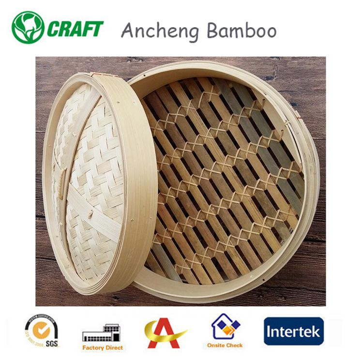 food bamboo commercial steamer