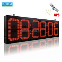 Countdown timer board led digital clock display circuit