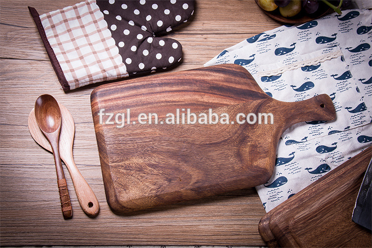 acacia wood steak plate acacia wood food plate  wood steak plate