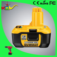 Big current 15C li ion power tool battery replace for dewalt 18v li-ion