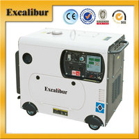 Updated Type Portable 5KW Silent-type Diesel Generator Model S6500DS3-2