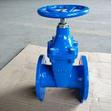 cast iron rising stem steel slide gate valve