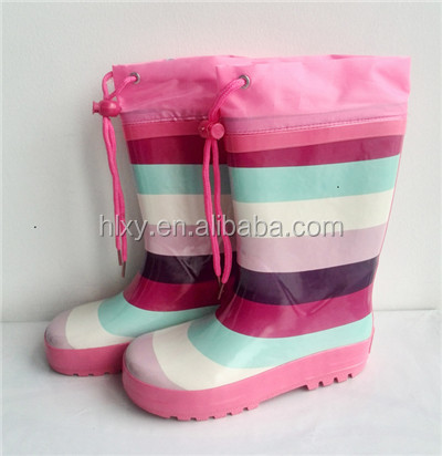 custom-made rubber boots