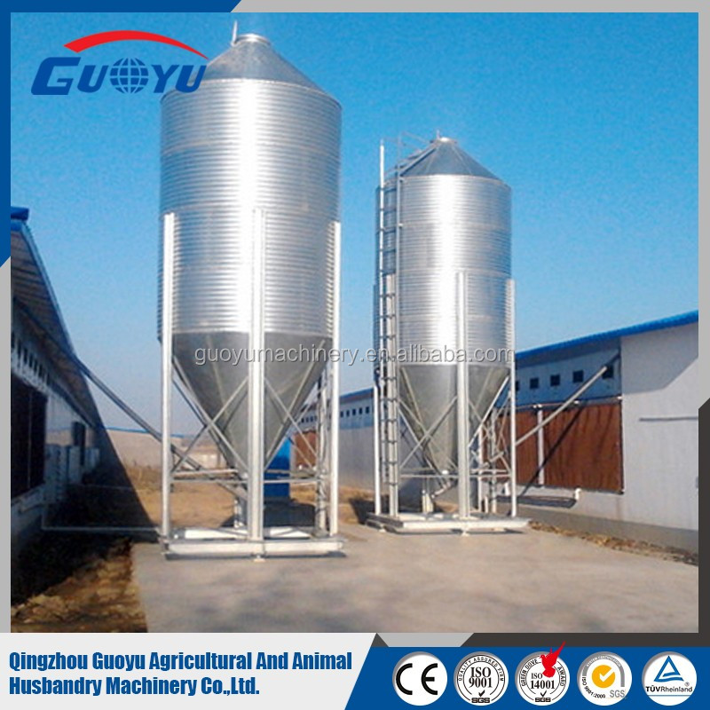 High quality used grain storage silo/bulk feed bins for sale