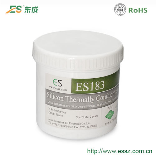ES highly welcome silicone thermal conductive grease rapid cooling
