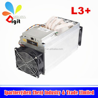 The 2017 Antminer L3+ 504M 800W 1.6J/MH For litecoin miner LTC mining machine