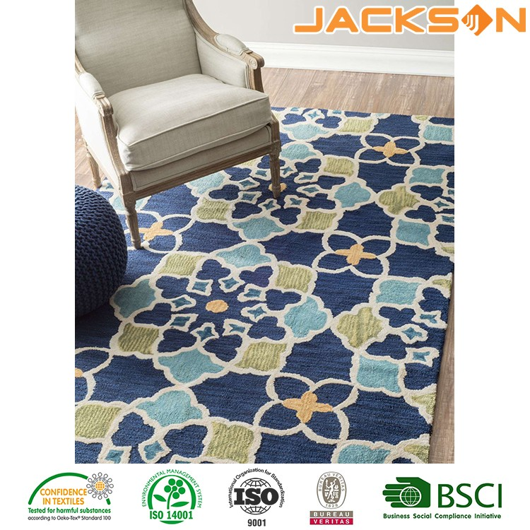 High quality wholesale modern pattern area floor rug pad non slip