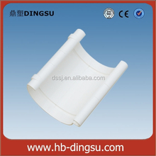 PVC HALF ROUND GUTTER CONNECTOR IN 5 INCHES(125MM)