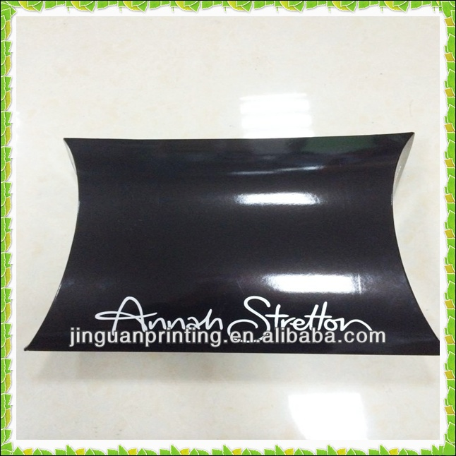 large printed apparel paper pillow box