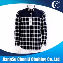 wholesale men long sleeve check casual mens shirts