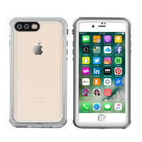 New Slim Transparent Shockproof Snowproof Waterproof Phone Case Cover for iphone 6 6s 7 7plus
