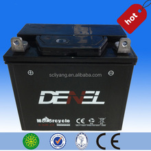 Sealed Maintenance Free 12V Motorcycle battery /Three wheeler motorcycle battery for Lifan