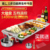 Electric grill pan With Heating pot and double -heating tubes