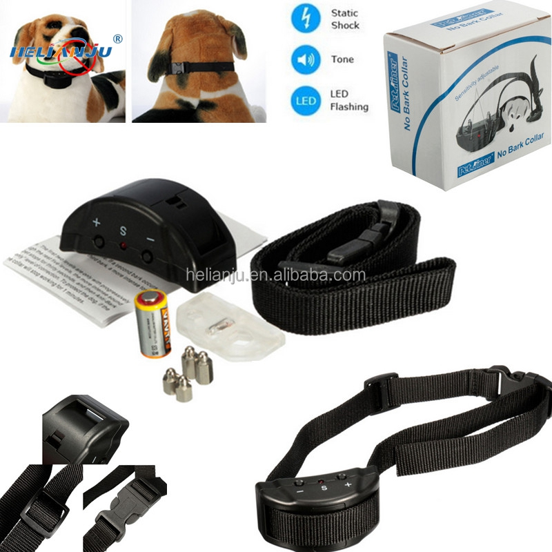 2018 hot sell Anti Bark Stop Controller No Barking Remote Electric Shock Vibration Dog Training Shock Collar factory price